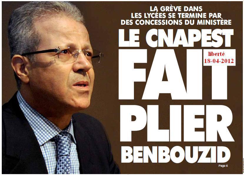 La CNAPEST fait plier Ben Bouzid dans Articles Presse CNAPEST-BEN-BOUZID